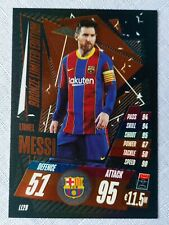 Match Attax 2020/21 Lionel Messi Bronze Limited Edition card