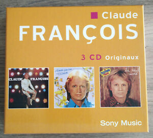 Coffret 3 CD Originaux Claude François Sony Music