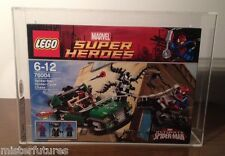 LEGO 76004 AFA UKG Graded 90% Marvel Super Heroes Spider Man Spider Cycle Chase