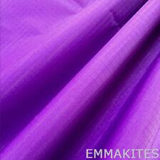 Ultra Thin Ripstop Waterproof Nylon Fabric Purple For Outdoor Stunt Kites Making