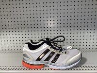 Adidas AdiStar Solution 2 Mens Athletic Running Shoes Size 10 White Orange Black
