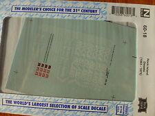 Microscale Decal N #60-18 Rock Island Diesels (1963-1975)