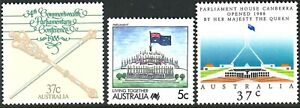 1988-1989 Australian MUH Stamps Set of 3 - New Federal Parliament variety issues