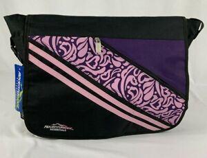 New Adventuridge Essentials Shoulder Strap Backpack Bag Pink and Purple Design