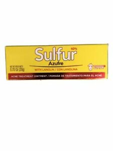 Grisi Sulfur Acne Treatment Ointment With Lanolin 20g