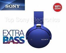 Sony MDR-XB650BT/L BLUE Extra Bass Bluetooth Wireless Headphones - MDRXB650BT