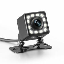 LED Backup Camera,Car Rear View Camera Waterproof High Definition 170 Degree Vie