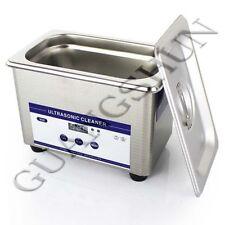 110V AC Cleaning Equipment Dental Ultrasonic Cleaner Ring Bath Digital Timer