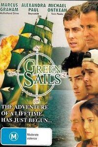 Green Sails DVD ADVENTURE CRUSADER MOVIE Marcus Graham - REGION 4