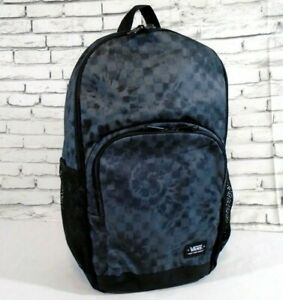 NWT VANS Off The Wall ALUMNI 3 BACKPACK Travel Gym School Laptop Bag BLACK GREY