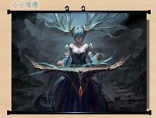 Anime League of Legends LoLGame Sona Home Decor Poster Wall Scroll 60*45CM D56