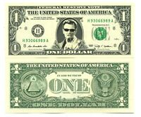 JOHNNY HALLYDAY - VRAI BILLET de 1 DOLLAR! COLLECTION Rock n Roll Français 2 # 6