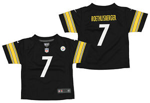 Nike NFL Infants Pittsburgh Steelers Ben Roethlisberger #7 Game Day Jersey