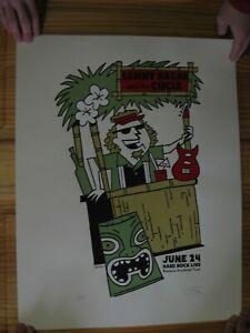 Sammy Hagar Poster And The Circle Van Halen Signed Numbered Hard Rock June 24