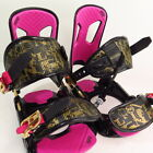 Rossignol  Snow Board Bindings Pink Gold Sz S/M no plates