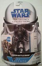 "Star Wars: Super Battle Droid SL No.10 Legacy Saga Legends 3.75"" Action Figure"