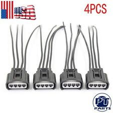 4x New Ignition Coil Female Connector Plug Harness For Toyota Lexus 2AZFE 1ZZFE