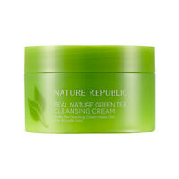 [Nature Republic] Real Nature Green Tea Cleansing Cream 200ml