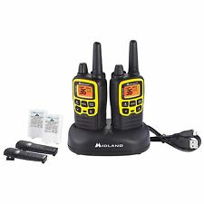 Midland 32 Mile Two-Way Radio 2 pk, X-TALKER, T61VP3, Weather Scan, Rapid Charge