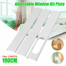 Adjustable Length 190CM Window Slide Kit Plate Accessories For Air