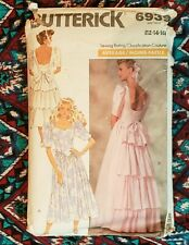 New ListingVintage Butterick Sewing Pattern 6939: Lady'S Dress  Wedding Bridesmaid (1988)