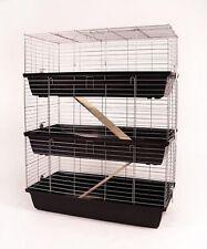 Guinea Pig Cage Rabbit Hutch 3 Floors Cage 1 M