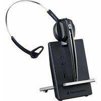 Sennheiser D 10 Usb Ml Headset - Mono - Wireless - Dect 6.0 - 590 Ft - 150 Hz -
