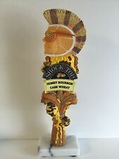 "Shock Top Honey Bourbon Cask Wheat Beer Tap Handle VGC (Mint) & F/Shipn. 12"""