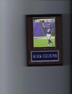 KIRK COUSINS PLAQUE MINNESOTA VIKINGS FOOTBALL NFL