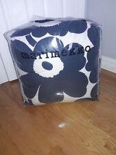 Marimekko Unikko King Comforter Set in Navy/White With 2 King Shams!!