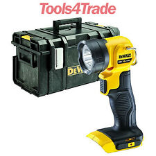 DeWalt DCL040 18v XR LED Pivot Light Body Only With DS300 Tough System Kit Box