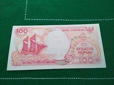 NDONESIE billet neuf de 100 RUPIAH Pick127 VOILIER VOLCAN ANAK KRAKATAU 1992