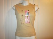 NWT Womens Studded Aquarius Brunette Fashion Water Bearer Tee Shirt Size Small