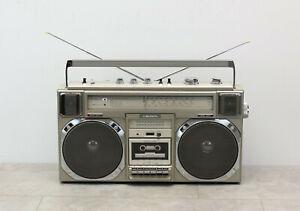 Crown CSC 950-L mit Phono HiFi Stereo Radiorecorder / 4 Band Radio Vintage