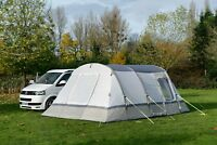 Inflatable Drive Away Camper Van Awning - OLPRO Cocoon Breeze (Sage Green/Chalk)