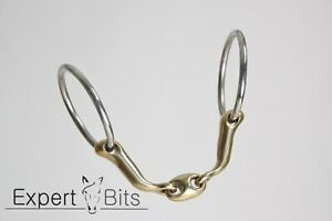 EXPERT BITS - Loose Ring Comfy Mouth - Verbindend Shaped Bit Like Neue Schule