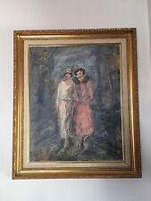 Rarely Offered JOHN ROBERT WILLER Original Oil Painting On Illustration Board