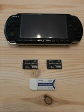 PlayStationPortable PSP 3004 [CON MOD +2 MEMORY + CASE] BATTERIA NON SI CARICA!