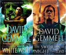 David Gemmell DRENAI SAGA: THE DAMNED Epic Sci Fi Series Paperback Set Books 1-2