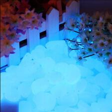 Drops Sassi Pietre e Ciottoli fosforescenti Blu Sky made ITA si illuminano notte