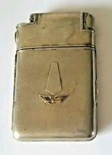 VTG Wings Propeller Logo Marathon Cigarette Case Lighter Not Working-Sell As Is