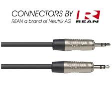 Câble Jack 3.5 Male STEREO vers Jack 3.5 Mâle STEREO longueur 3 Metres NAC3MPSR