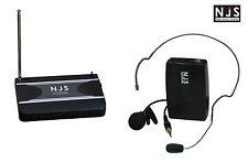 MICRO MICROPHONE SERRE TETE SANS FIL CONFERENCE DISCOURS VHF EMETTEUR RECEPTEUR