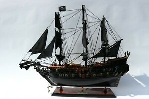 "16"" Black Pearl Model Tall Boat, Fully Assembled."