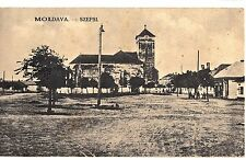Slovakia Hungary 1910s Moldava nad Bodvou Szepsi,Central Square,Church,nice pc!