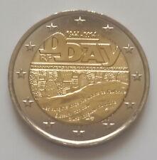 France 2014 D-Day pièce de 2 euro commémorative neuve