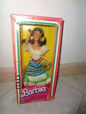 BARBIE ITALIAN 1979 VINTAGE DOLL  NRFB DAMAGED BOX