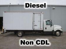 5270cc0ee8 TERRASTAR DIESEL 16-FT BOX CUBE VAN DELIVERY HAUL CURBSIDE-DOOR TRUCK LOW  MILES