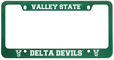 Mississippi Valley State University -Metal License Plate Frame-Green