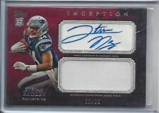 1/1 STEVAN RIDLEY 2011 TOPPS INCEPTION RED PATCH AUTO RC #D 22/25 JERSEY NUMBER!